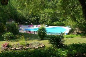 zwembad van Valenthèze