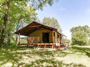 een mooie plek voor een safaritent