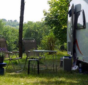 kampeerplek met uitzicht