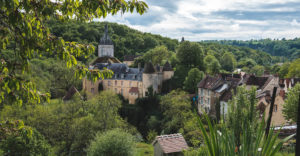 safaritenten in het midden van Frankrijk