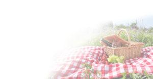 picknicken bij de safaritent