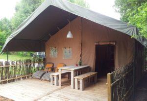 safaritent camping Chantegril
