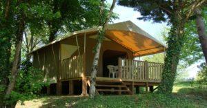 tente canada camping La Grande Veyiere